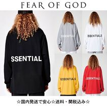 FEAR OF GOD Unisex Street Style Collaboration Long Sleeves Oversized