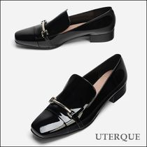 Uterque Patent Leather Chain Loafer