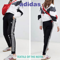adidas Stripes Casual Style Unisex Sweat Street Style Sweatpants