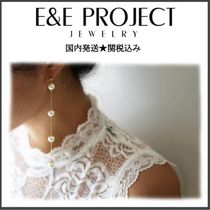 E and E PROJECT Handmade Party Style Silver Brass 14K Gold Fine