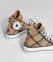 Bershka Tartan Other Check Patterns Collaboration Low-Top Sneakers
