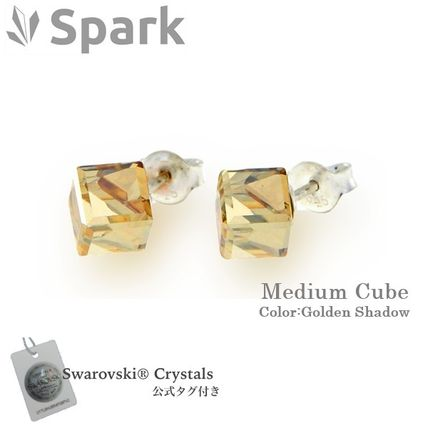 Spark Casual Style Unisex Silver Earrings