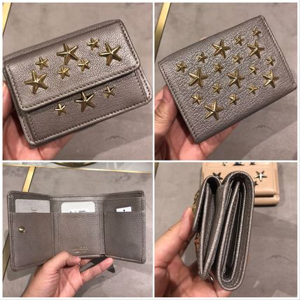 Star Leather Folding Wallets