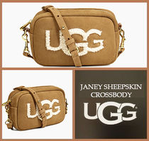 UGG Australia Casual Style Suede 2WAY Plain Shoulder Bags