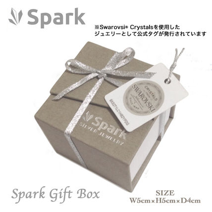Spark Casual Style Silver Office Style Fine