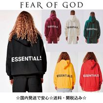 FEAR OF GOD ESSENTIALS Unisex Street Style Collaboration Hoodies
