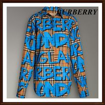 Burberry Other Check Patterns Casual Style Unisex Street Style