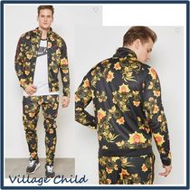 Nike Short Flower Patterns Street Style Track Jackets