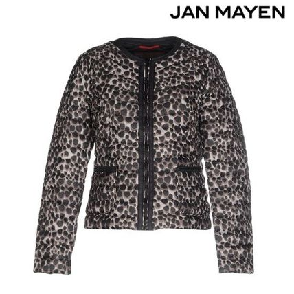 Leopard Patterns Down Jackets
