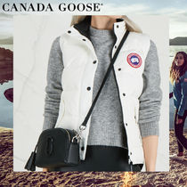 CANADA GOOSE FREESTYLE VEST Casual Style Plain Medium Vest Cardigans