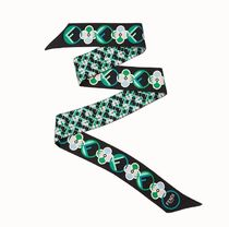 FENDI Monogram Casual Style Silk Lightweight Scarves & Shawls