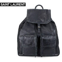 Saint Laurent Lambskin Backpacks