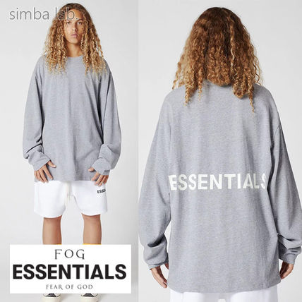 FEAR OF GOD Long Sleeve Pullovers Street Style Collaboration Long Sleeves Plain
