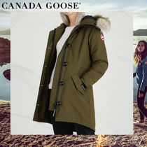 CANADA GOOSE ROSSCLAIR Plain Medium Parkas