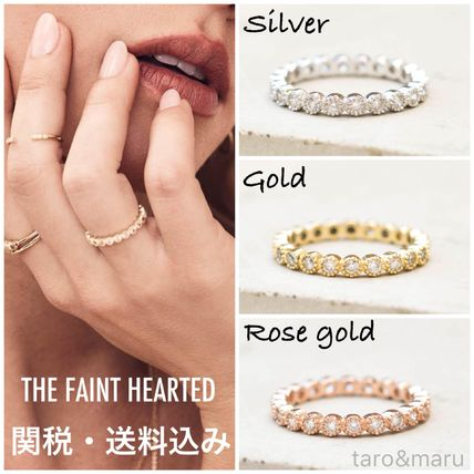 Costume Jewelry Casual Style Brass 14K Gold Rings