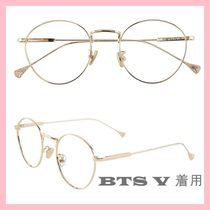 RIETI BTS V Non-prescribed Glasses ( Blue Light  & UV ) Block KPOP
