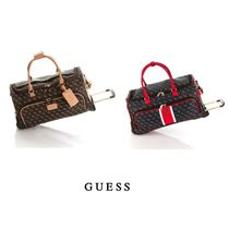 Guess Unisex Tassel Soft Type Oversized Luggage & Travel Bags