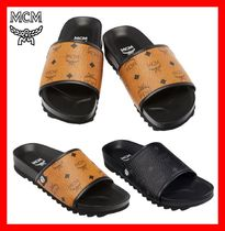 MCM Street Style Leather Sandals