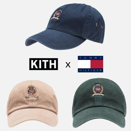 KITH NYC 2018-19AW Blended Fabrics Street Style Collaboration Caps ... 5796927c014