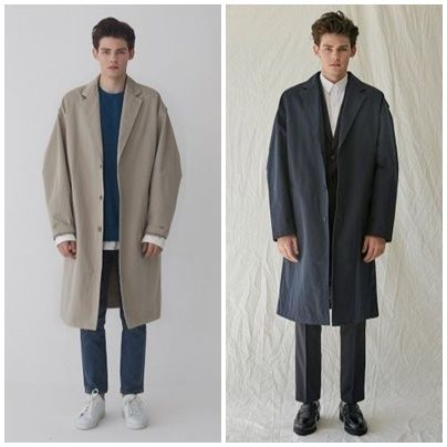 Plain Oversized Coats