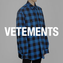 VETEMENTS Shirts