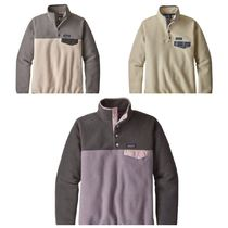 Patagonia Casual Style Long Sleeves Plain Tops