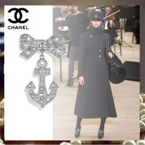 CHANEL Costume Jewelry Silver Elegant Style Party Jewelry