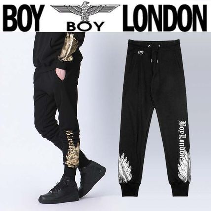 Printed Pants Casual Style Unisex Street Style