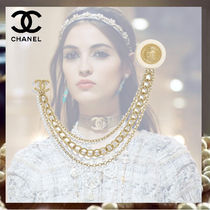 CHANEL Costume Jewelry Chain Elegant Style Party Jewelry