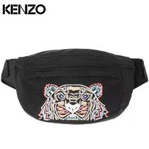 KENZO Nylon Other Animal Patterns Messenger & Shoulder Bags