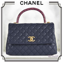 CHANEL MATELASSE Calfskin 2WAY Chain Plain Other Animal Patterns