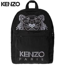 KENZO Nylon Other Animal Patterns Backpacks