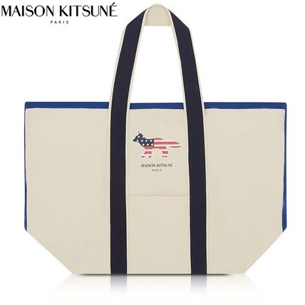 Casual Style Cambus Totes