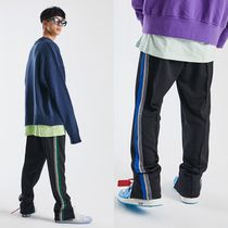 ATTENTIONROW Unisex Street Style Bottoms