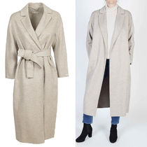 MaxMara Wool Long Wrap Coats