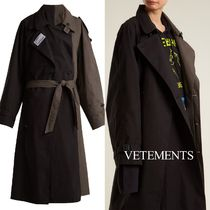 VETEMENTS Trench Coats