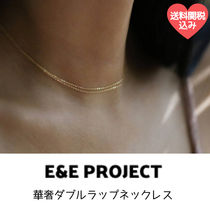 E and E PROJECT Chain Silver 14K Gold Elegant Style Fine
