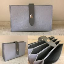 CELINE Strap Card Holders