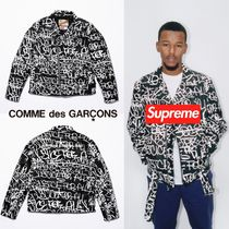 Supreme Street Style Collaboration Biker Jackets