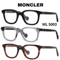 MONCLER Unisex Square Optical Eyewear