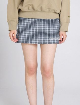 thisisneverthat Street Style Cotton Mini Skirts