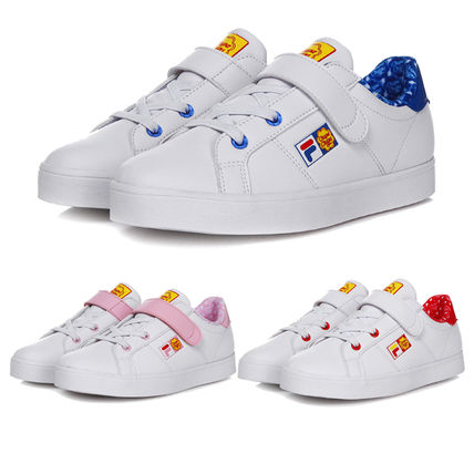a92ca5eb790d ... FILA Kids Girl Sneakers Unisex Street Style Collaboration Kids Girl  Sneakers ...