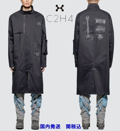 Street Style Collaboration Long Coats