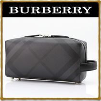 Burberry Street Style PVC Clothing Bags
