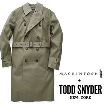 MACKINTOSH Collaboration Plain Trench Coats