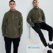 Columbia Pullovers Street Style Long Sleeves Plain Tops