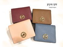 Michael Kors Plain Leather Coin Purses