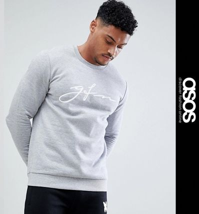 ASOS Sweatshirts Pullovers Sweat Street Style Long Sleeves Sweatshirts