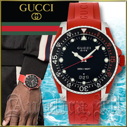 c2d4f771ac1 GUCCI 2018-19AW Divers Watches Analog Watches (YA136309) by Anjelica ...