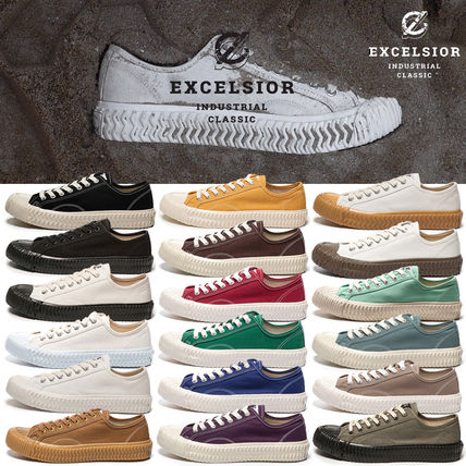 Platform Casual Style Unisex Street Style Plain Dad Sneakers